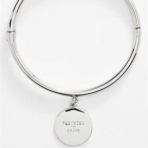Kate Spade 'partners in crime' charm bracelet